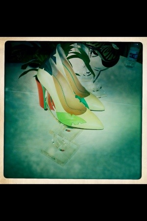 charlotte olympia palm trees