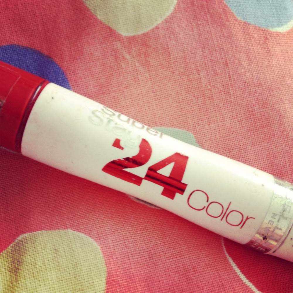 Maybelline 24 Hour Lipstick Review Maybelline Colorstay 24 Hour '