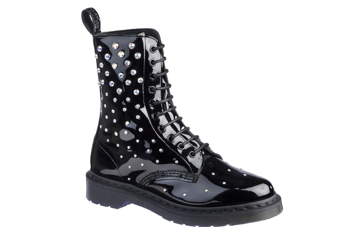 dr martens crystal covered boots