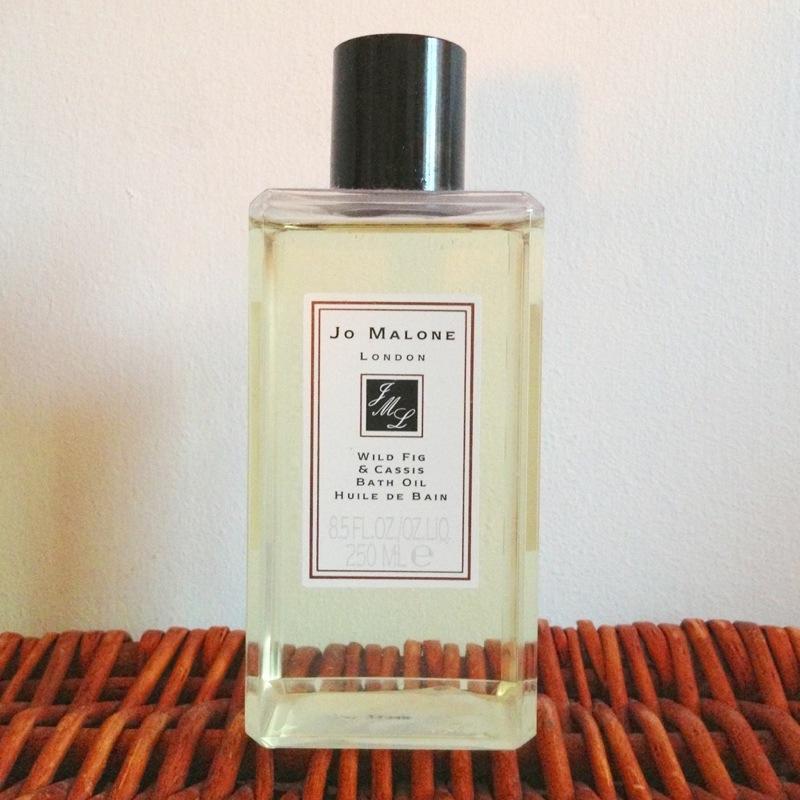 jo malone wild fig and cassis bath oil