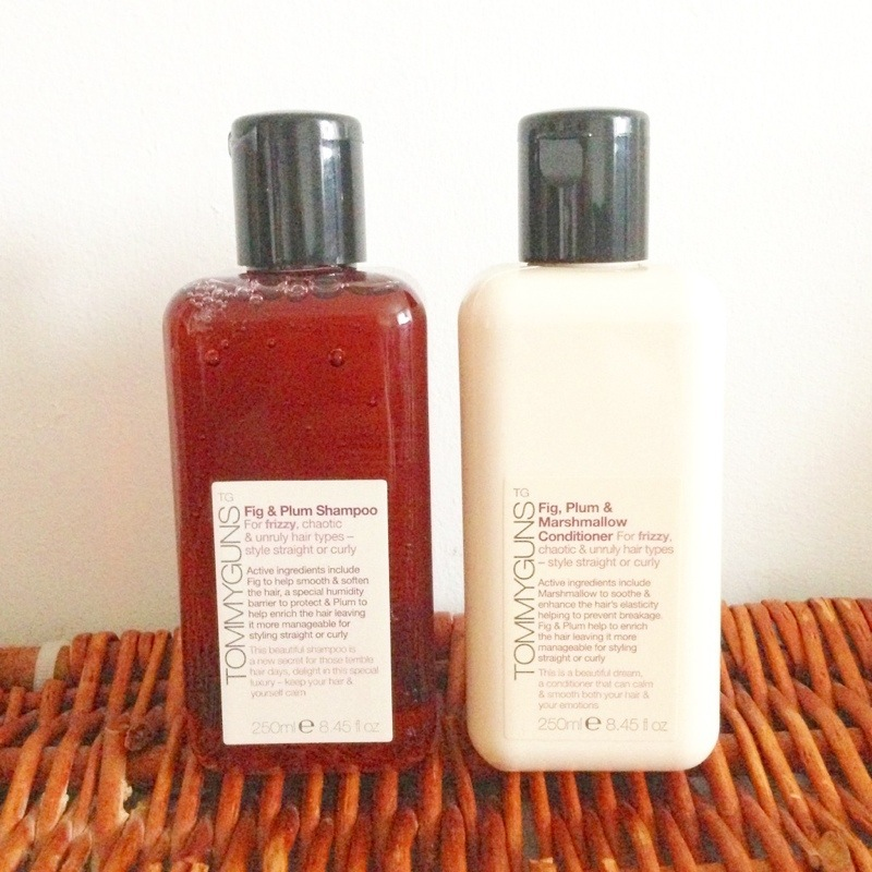 tommy guns fig and plum shampoo conditioner