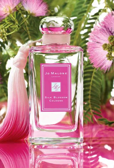 silk blossom fashion for lunch - jo malone london