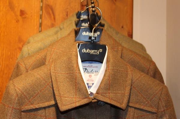 dubarry of ireland flagship shop coats