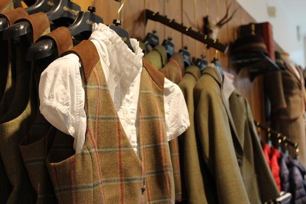 dubarry of ireland flagship shop shirt and waistcoat