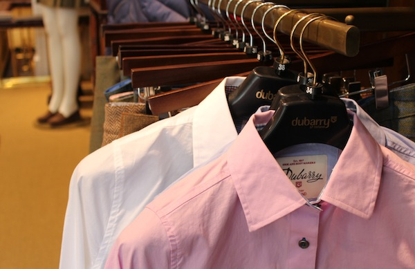 dubarry of ireland flagship shop shirt