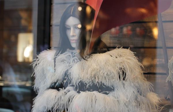 chanel bond street shop window