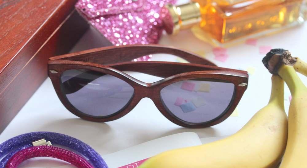 giveaway proof eyewear wood framed sunglasses fashion
