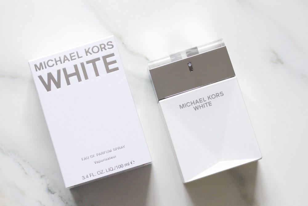 white michael kors perfume