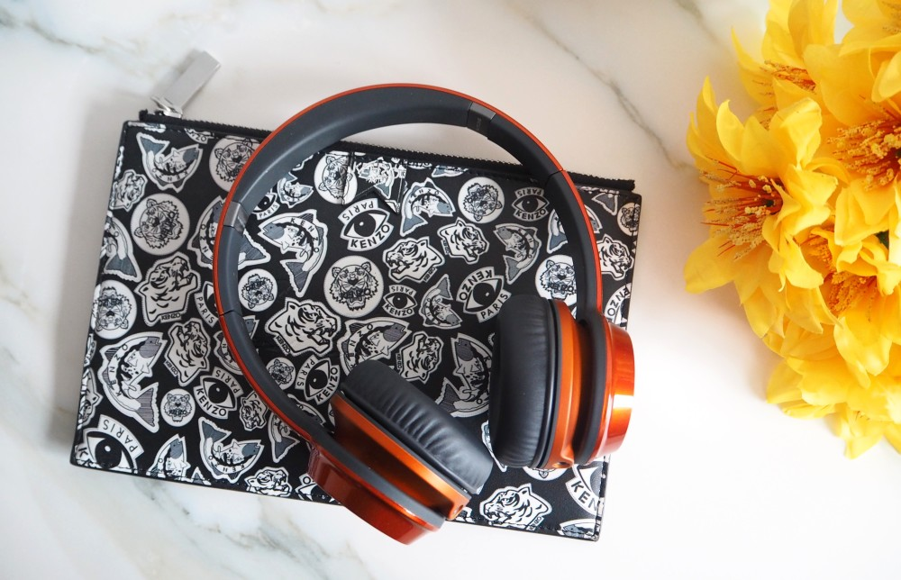 monster headphones candy colour collection kenzo clutch bag
