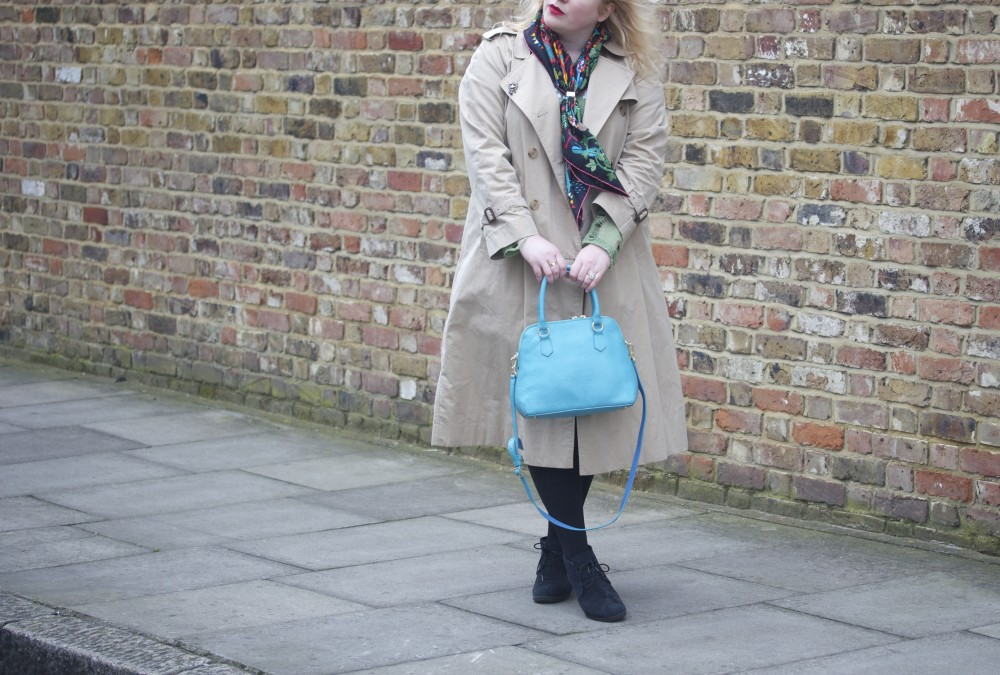burberry trench coat vintage ootd fashion blogger wordpress blog blogger style
