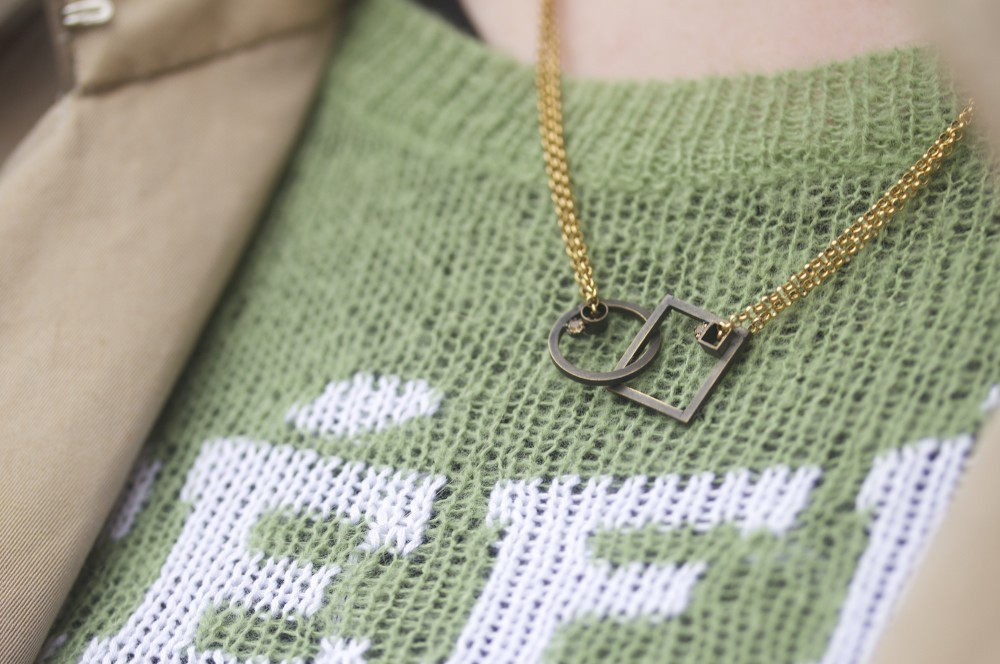 charlotte valkeniers necklace geometric