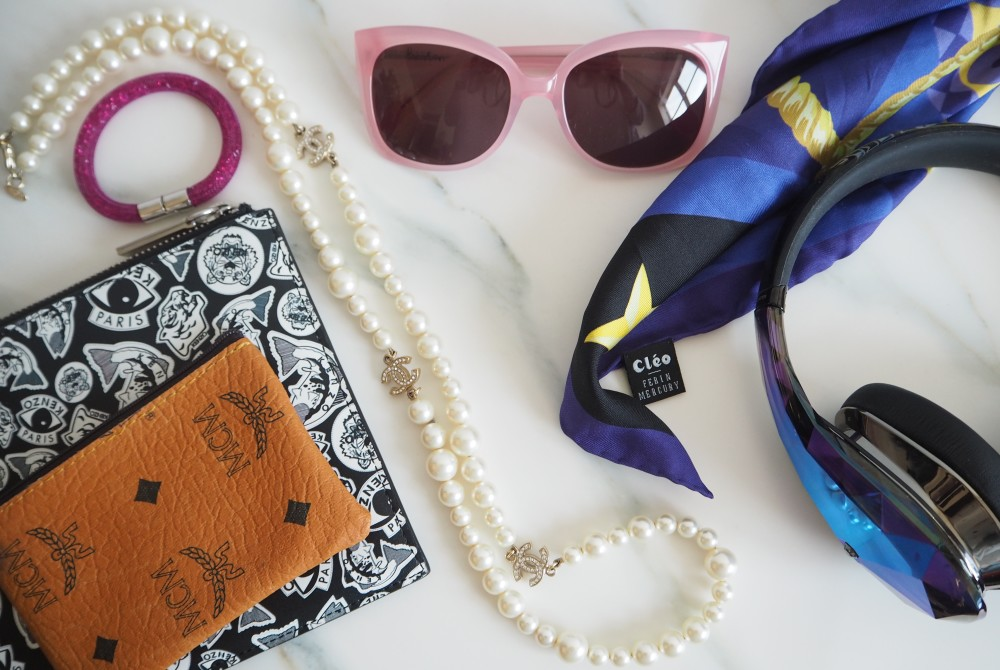 pink boden sunglasses