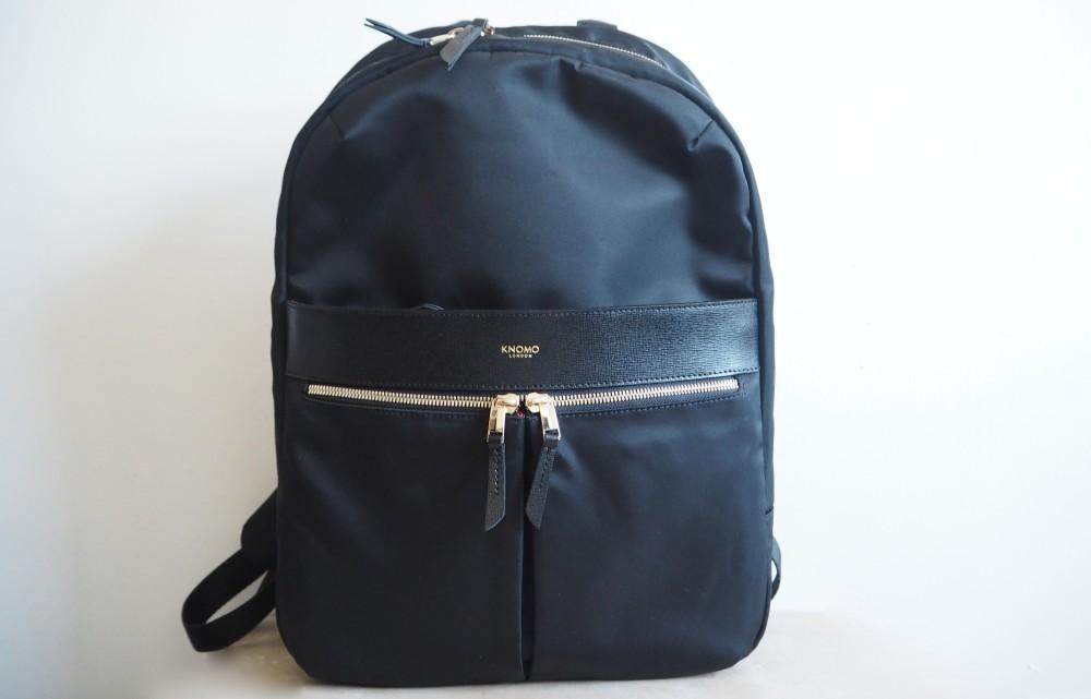 knomo backpack black unisex