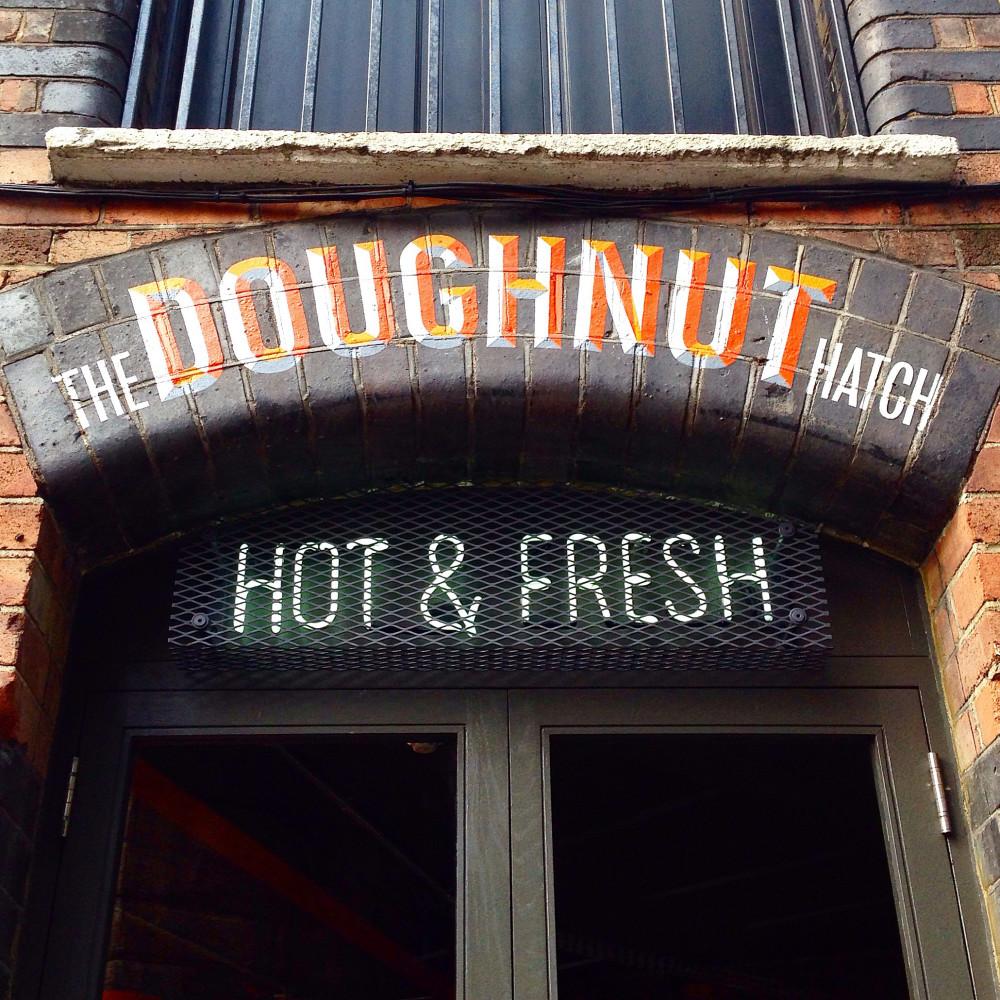 Bird Restaurant doughnut hatch