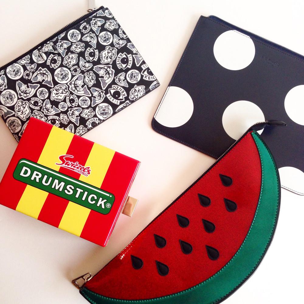 Watermelon Clutch Bag henry holland debenhams