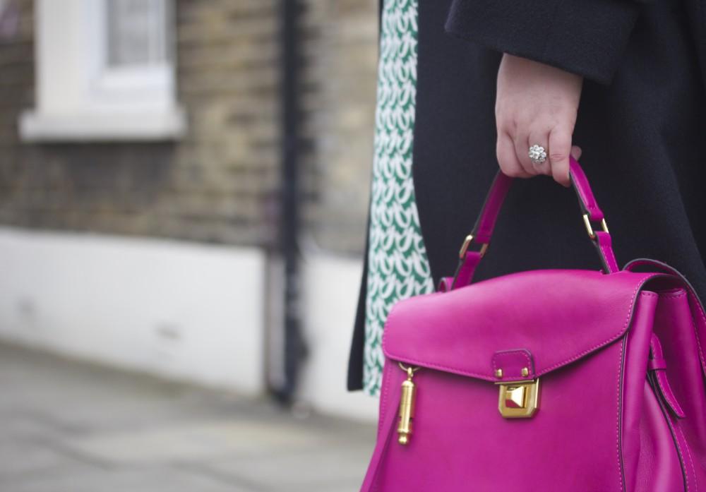 mcm worldwide pink christina handbag kelly bag style