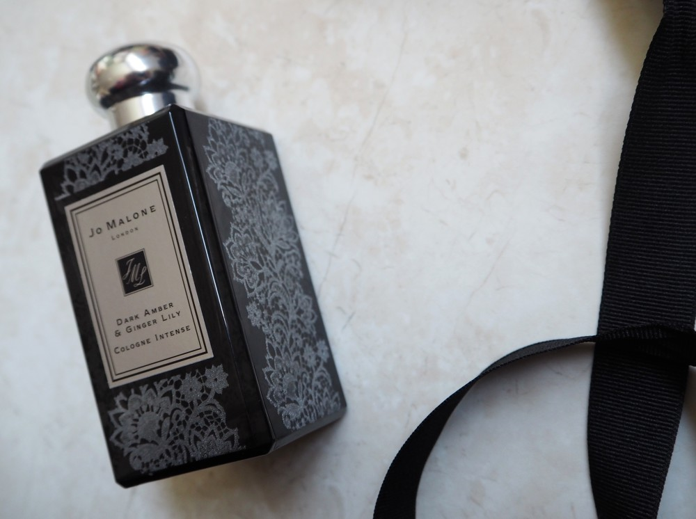 jo malone london lace bottle collection bespoke dark amber and tiger lily cologne intense