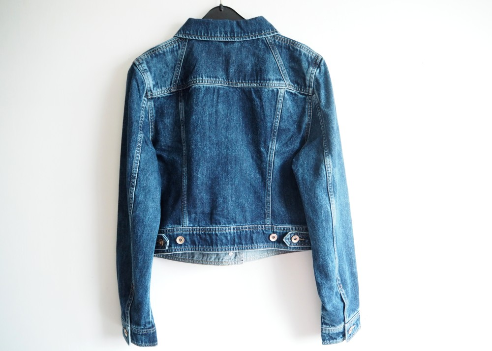next denim jacket perfect for craft project
