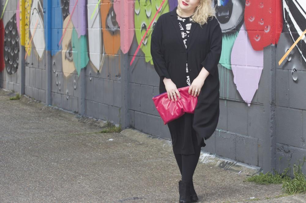 black monki coat duster style carnaby street lana blazer