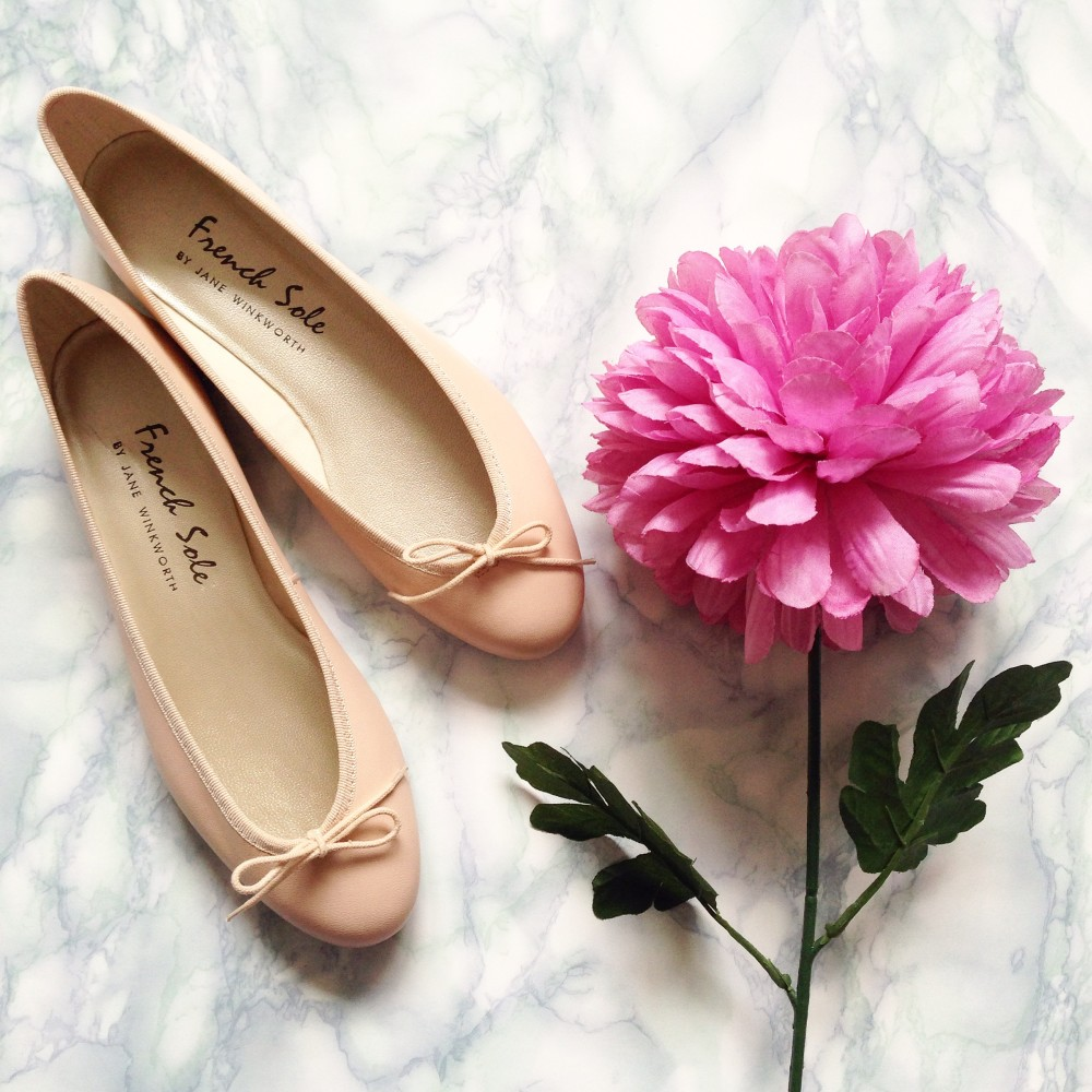 french sole ballet pumps india natural style