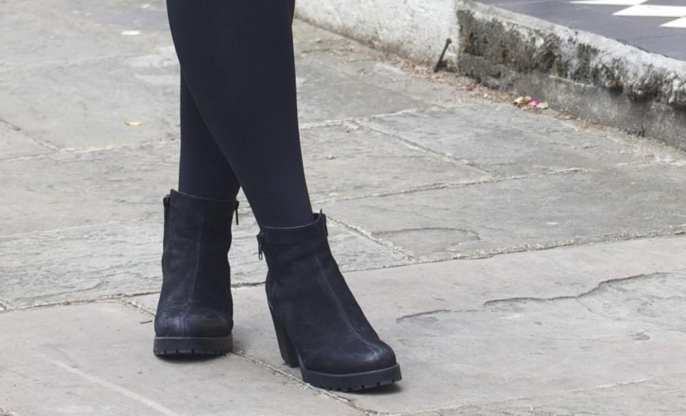 vagabond boots black nubuck two zips