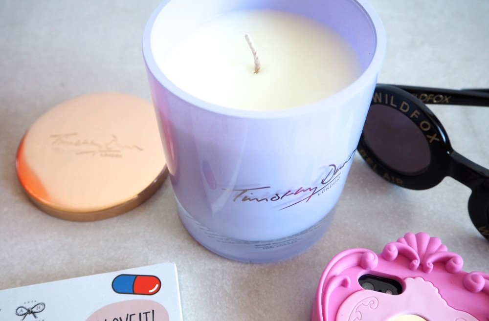 timothy dunn london violet candle