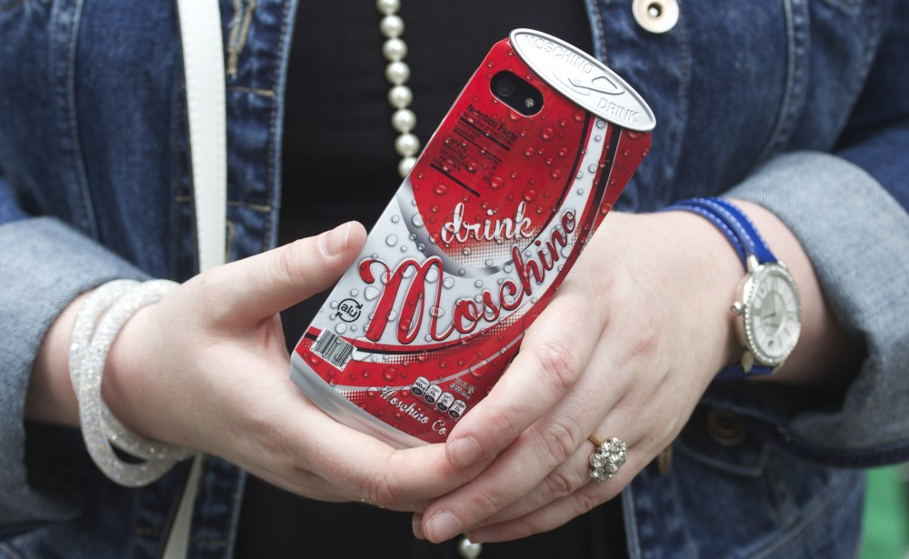 moschino beer can iphone case