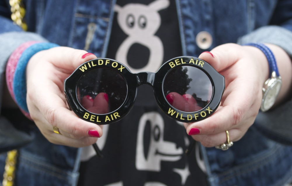 wildfox bel air black sunglasses fashion blogger