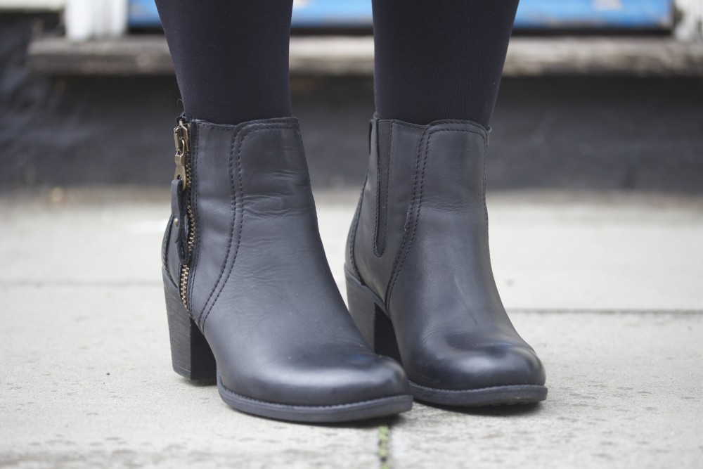 hush puppies 2015 black boots