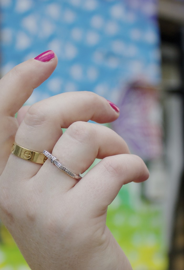 cartier love ring gold authentic fashion blogger