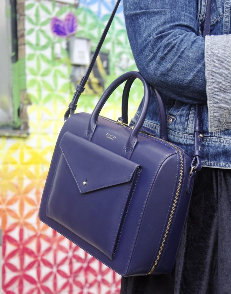 john keats inspired handbag radley london fblogger
