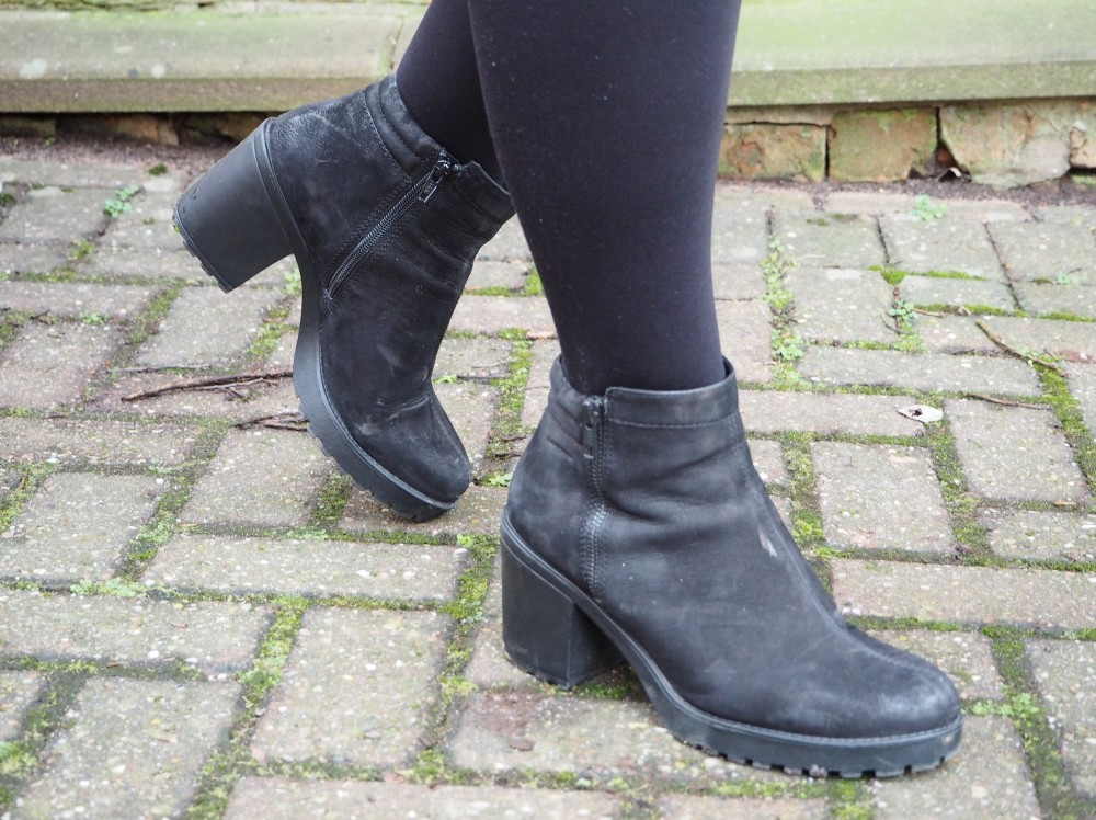 vagabond boots black nubuck cool