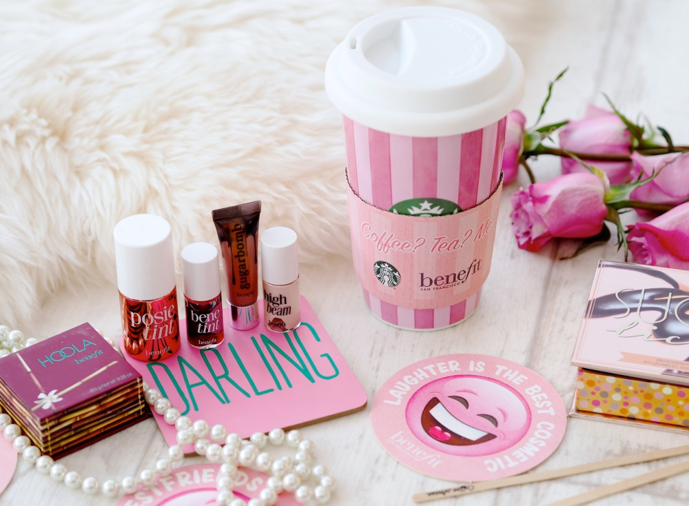 Benefit X Starbucks free coffee promotion