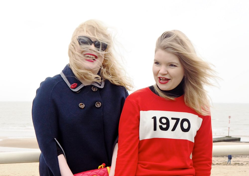 bella freud 1970 jumper red