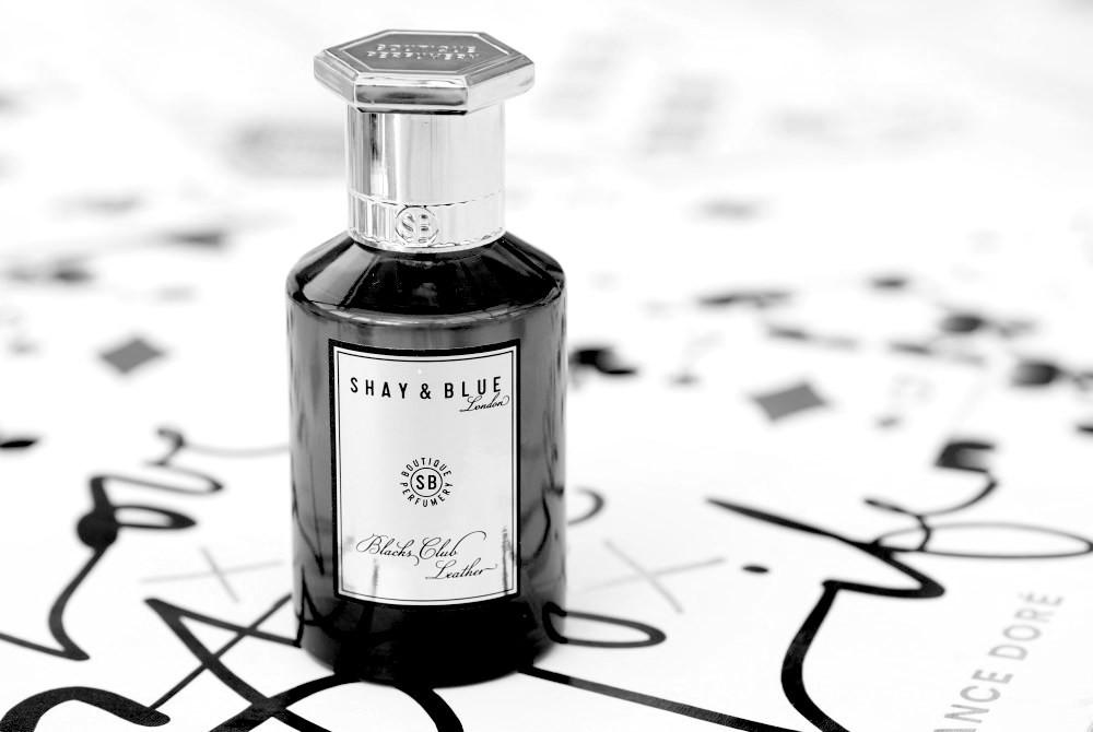 Shay & Blue Blacks Club Leather perfume fragrance cologne