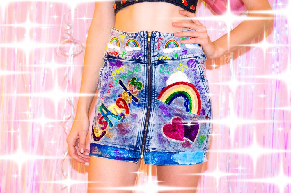 laser kitten fashion designer LA kitsch cool