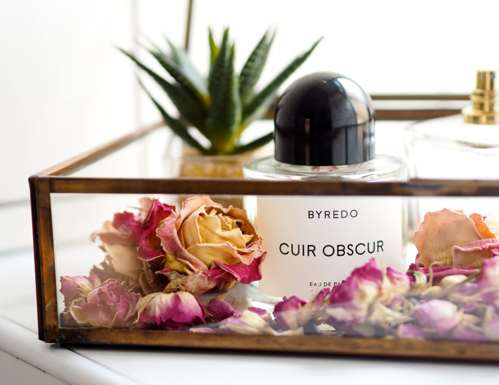 Byredo Cuir Obscur perfume fragrance review harrods exclusive