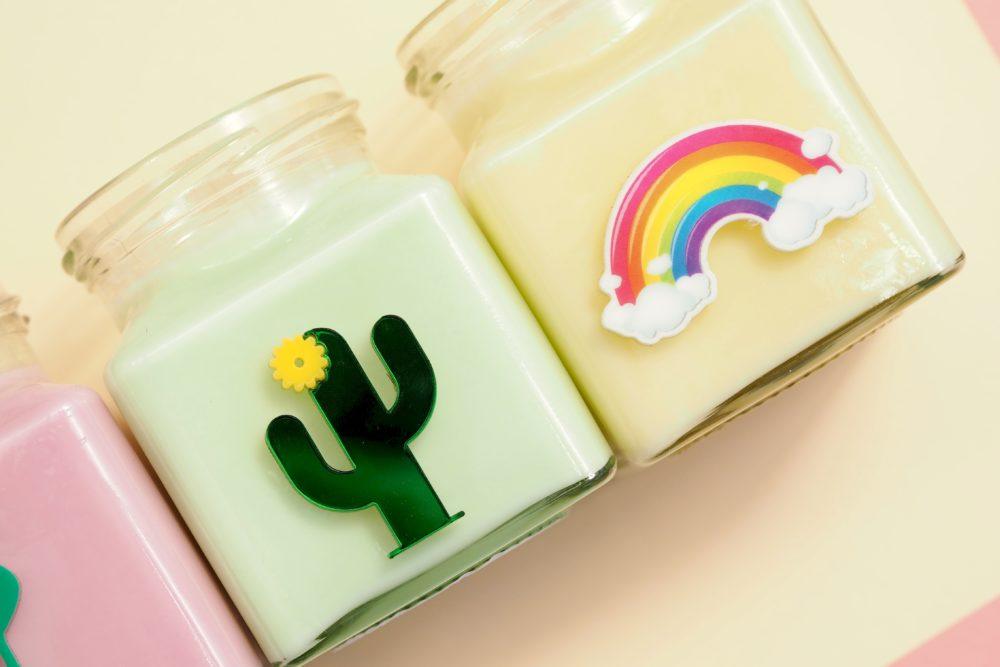 Flamingo-Candles-cactus-rainbow