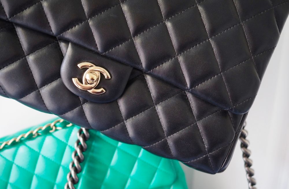 black-chanel-bag-lambskin-finish-leather