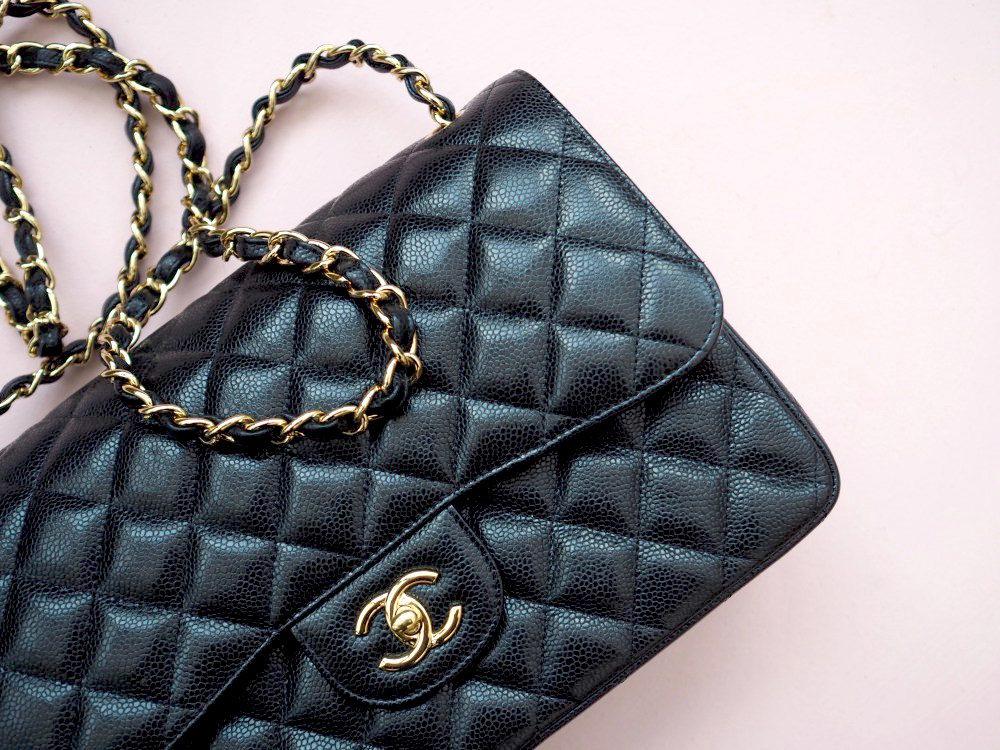 chanel-classic-flap-handbag-with-gold-hardwear-caviar-leather