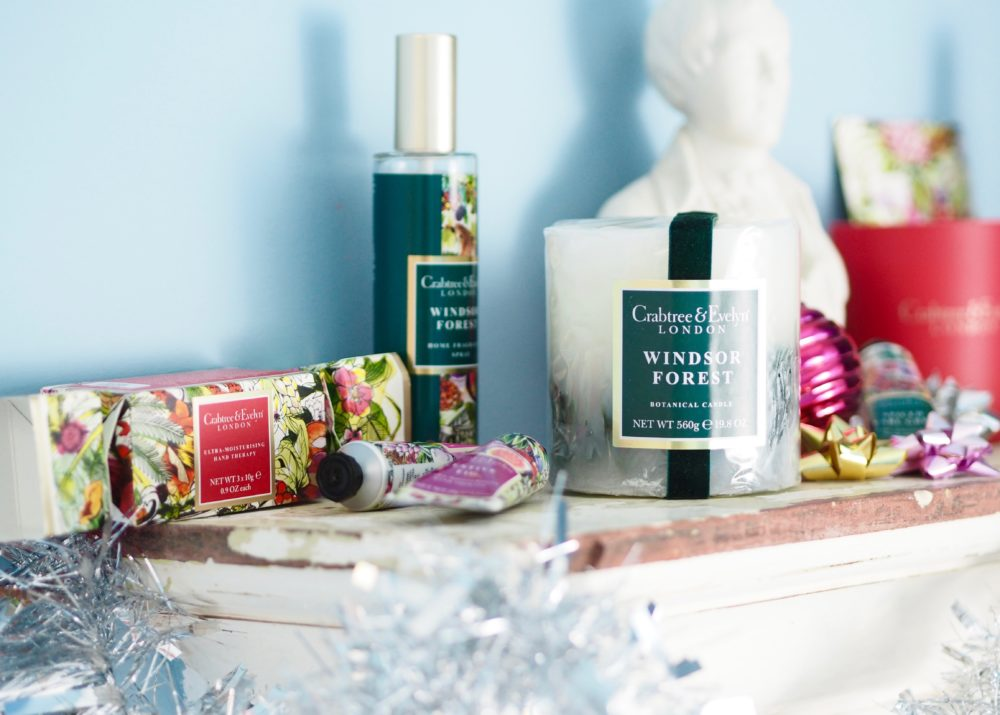 crabtree and evelyn winter christmas fragrance collection
