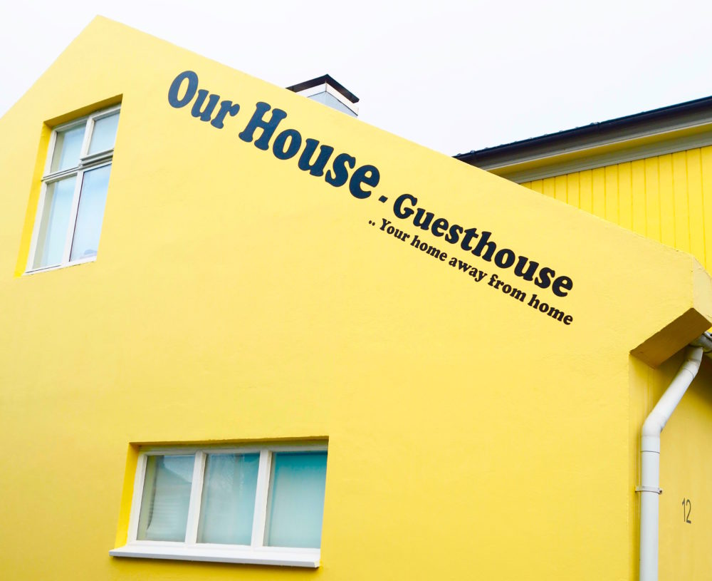yellow-guest-house-Reykjavik-iceland