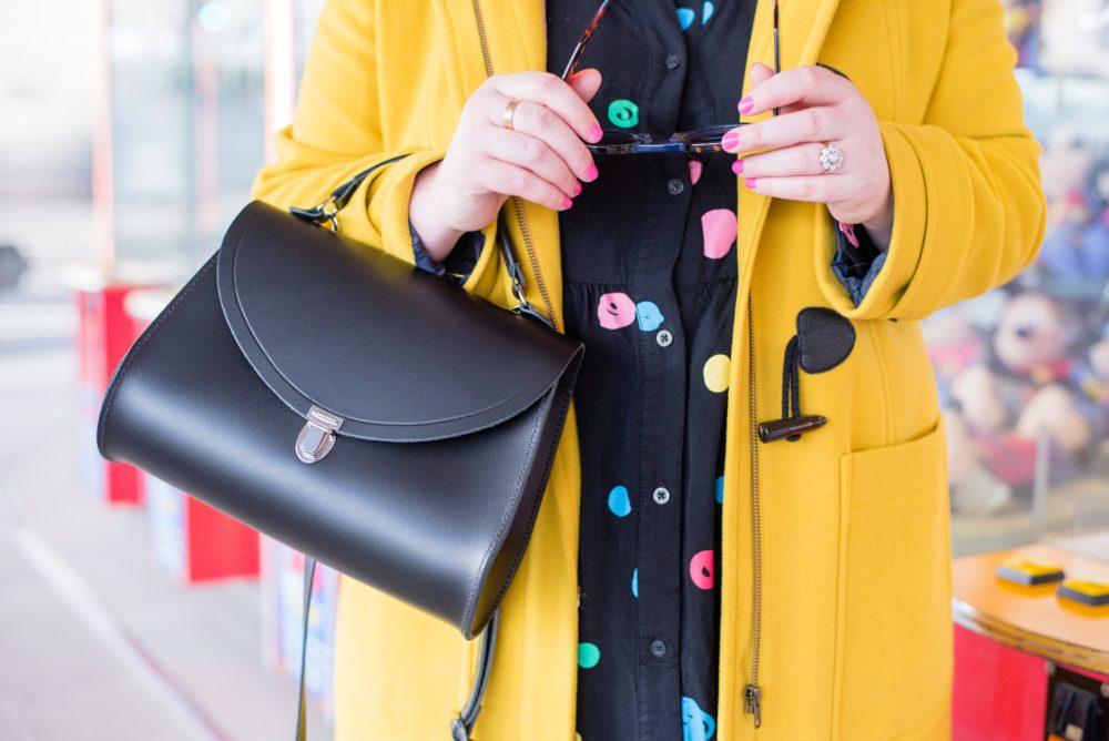 boden-yellow-duffle-coat-and-cambridge-satchel-company-handbag