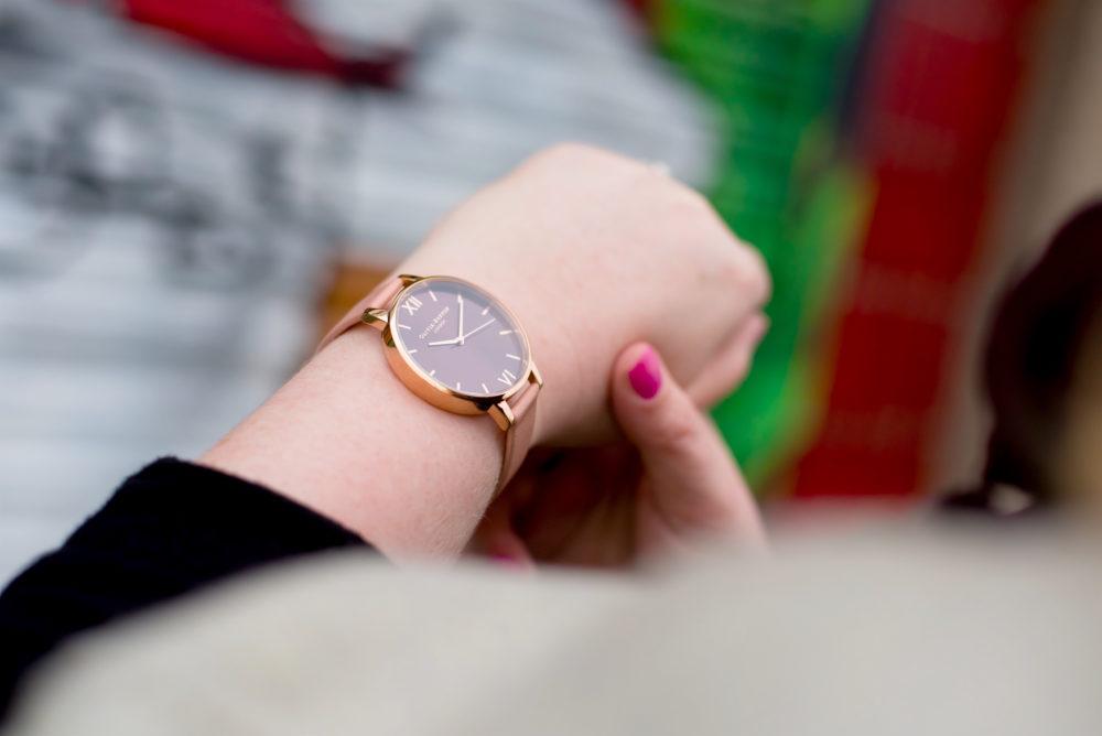 olivia burton watch pink strap 1