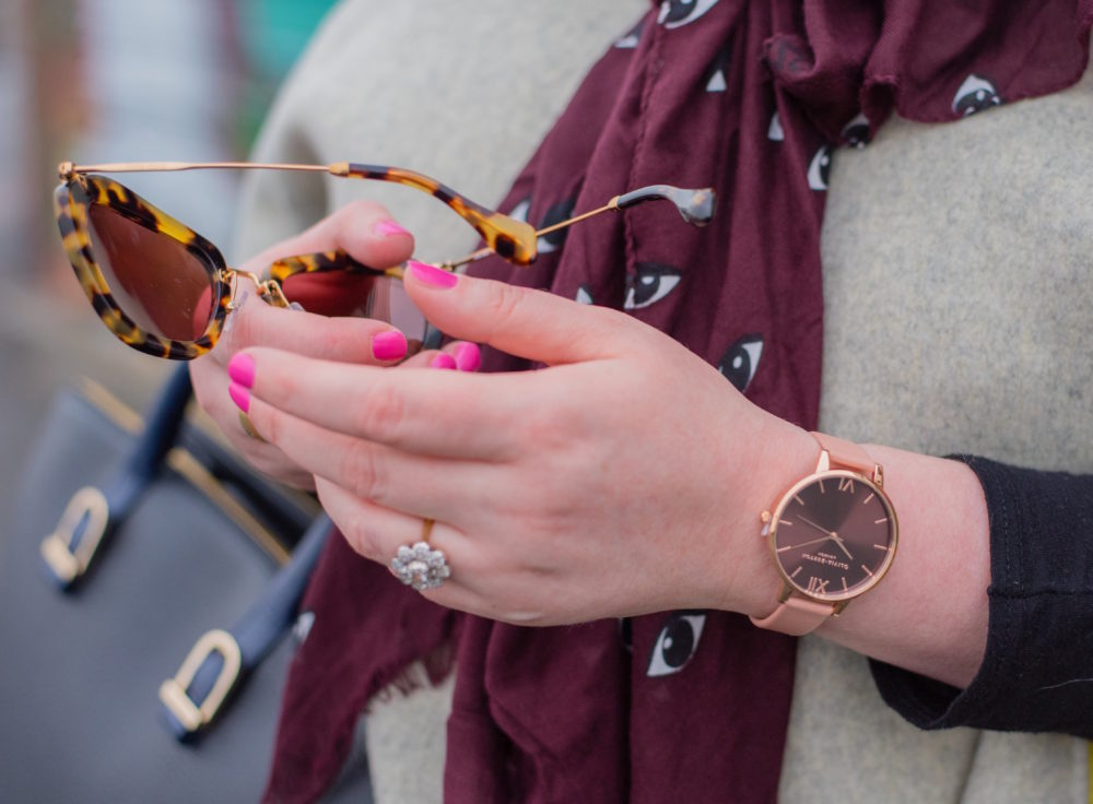 olivia burton watch pink strap 4
