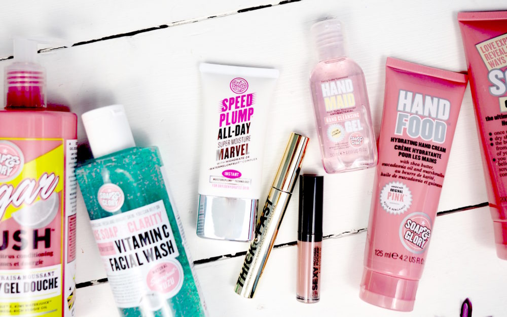 soap and glory the whole glam lot