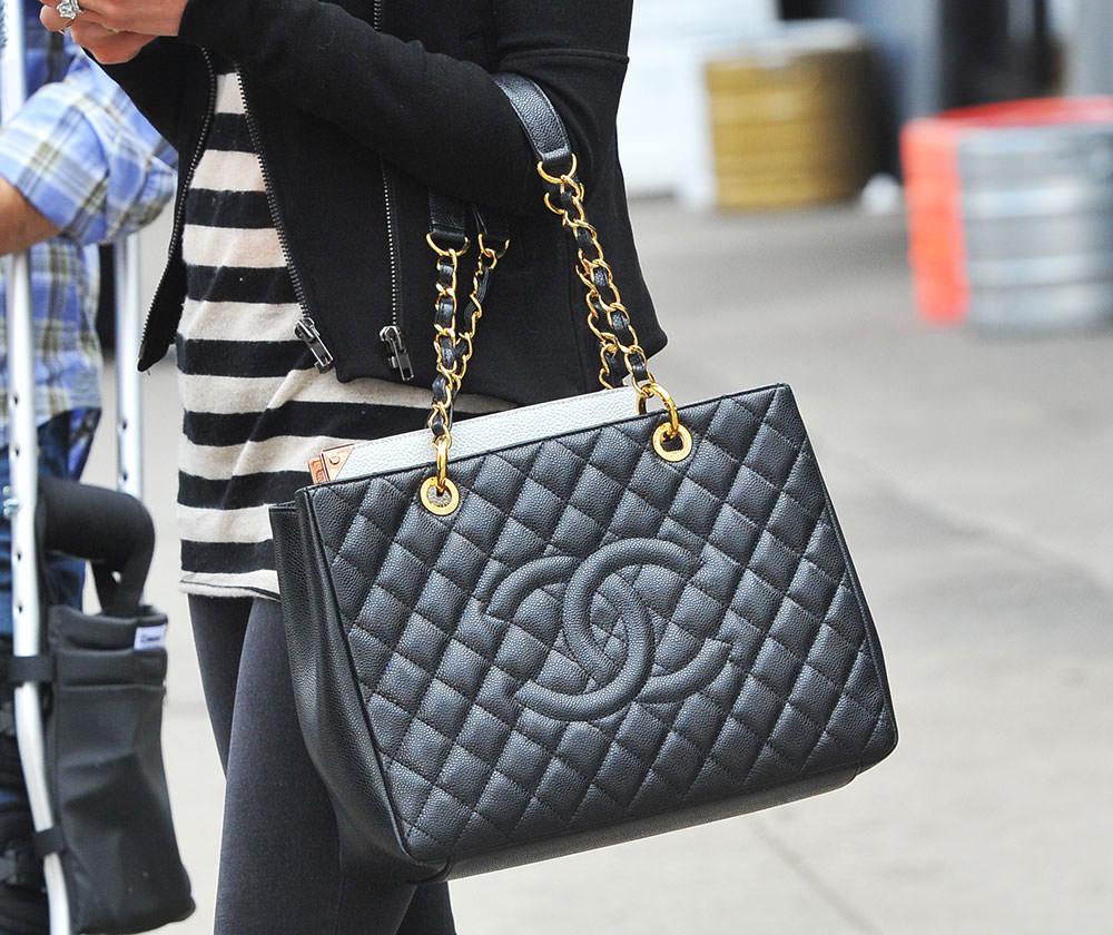 chanel GST handbag