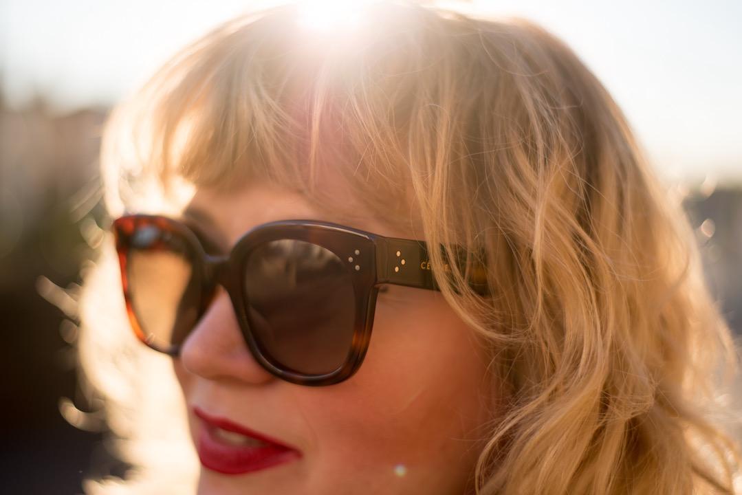 celine sunglasses audrey style