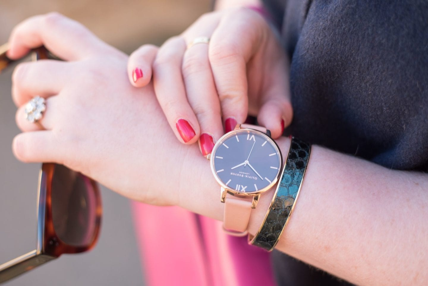 olivia burton watch fashion blogger