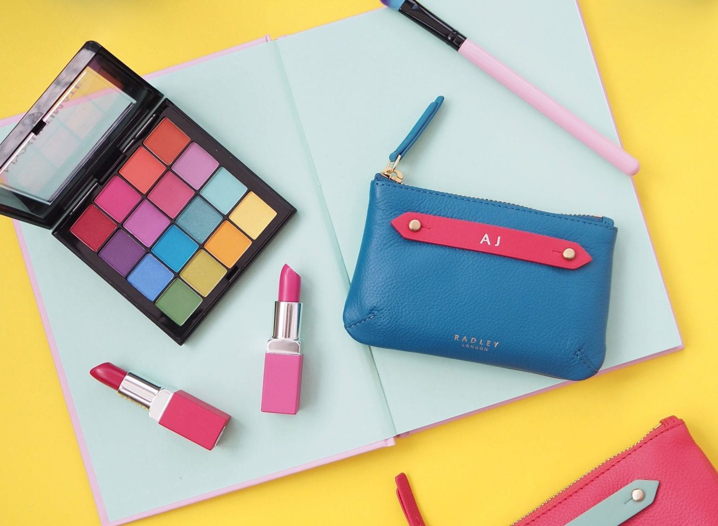 my-radley-personalised-pouch-blue-flatlay-